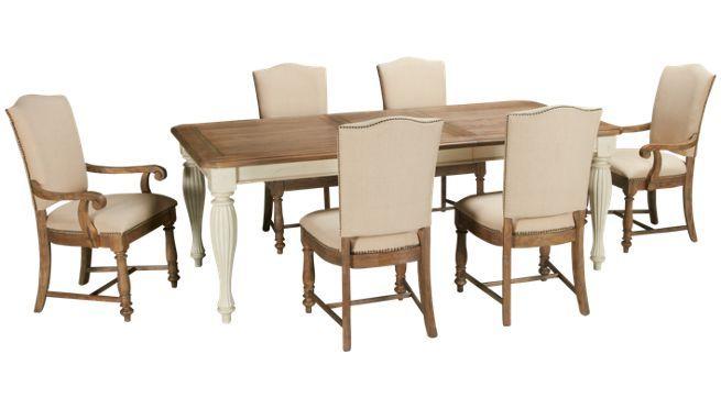 Riverside Coventry 7 Piece Dining Set Jordan S Furniture