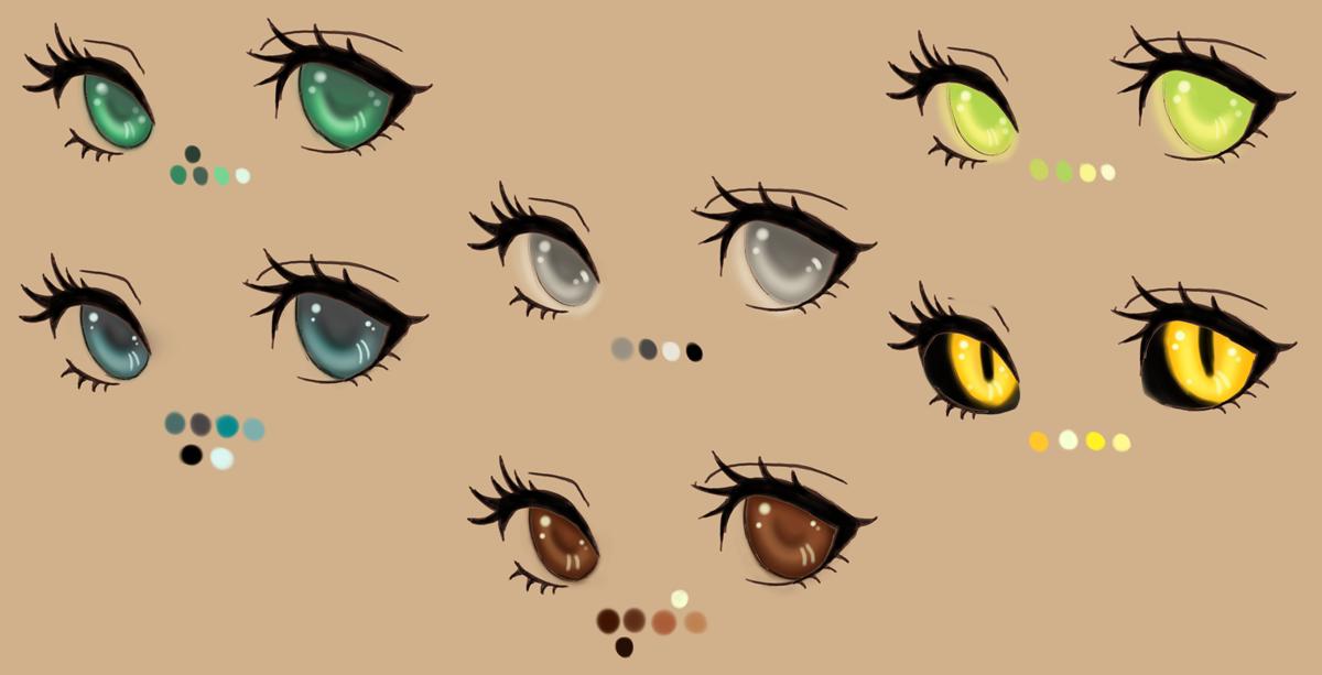 eye color palette
