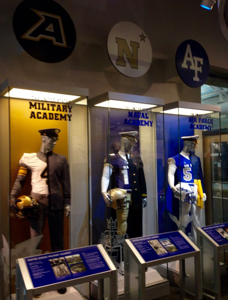 College Football Hall Of Fame Armed Services Football And Cadet