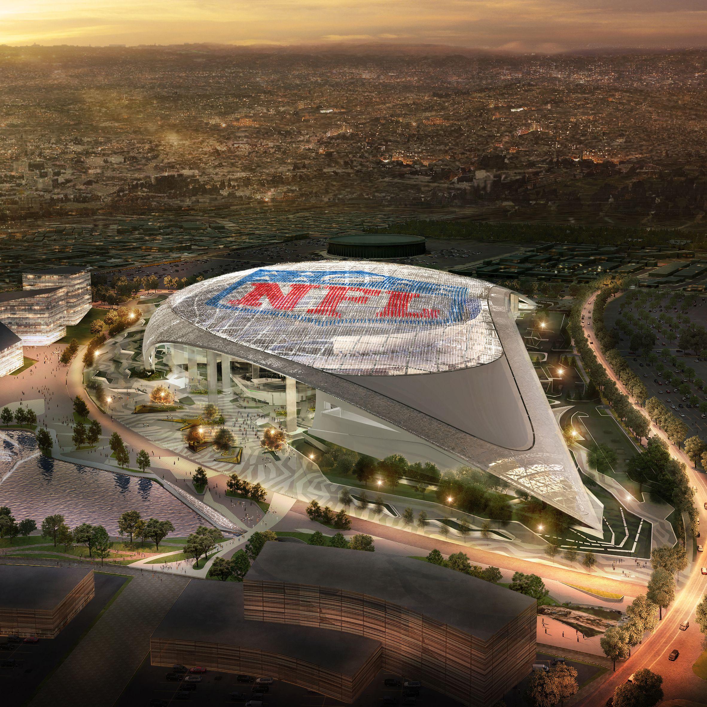 Las Vegas Hopes To Entice Oakland Raiders With 1 9 Billion Stadium Super Bowl Stadium Stadium Sports Stadium