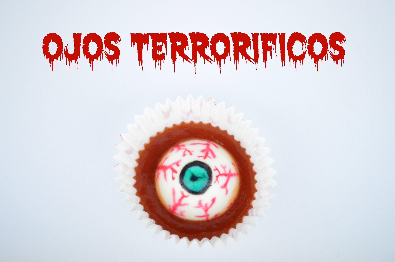 Ojos terroríficos comestibles. #halloween #cocina #huevos