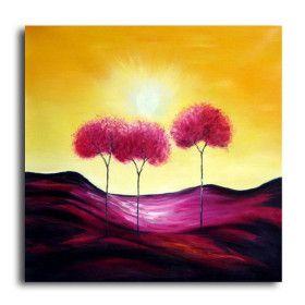 gedehnt handgefertigt abstrakte Landschaftsmalerei