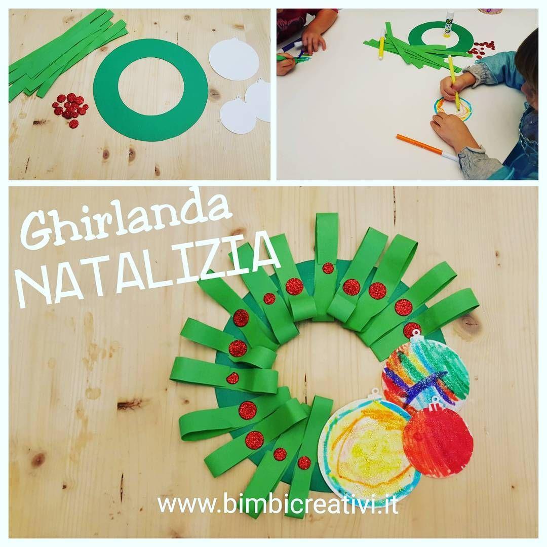 Photo of Ghirlanda Natalizia Tutorial completo su www.bimbicreativi.it #bimbicreativi #g …