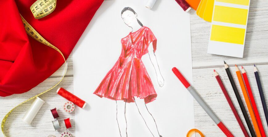 Fashion Designing Is Becoming The First Choice Of Most Of The Youth In Today S Time Being A Creative Field Yo In 2020 Fashion Designing Course Fashion Fashion Design