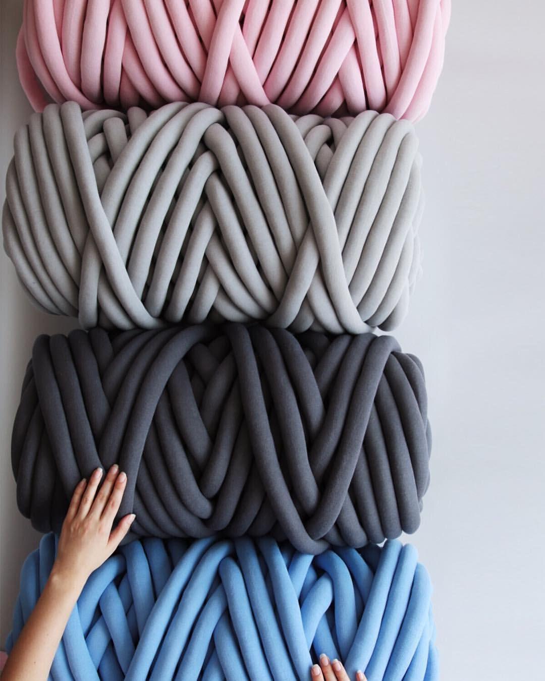 Braid big yarn blanket blanket diy diy knit blanket