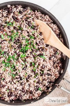 Cuban Rice and Beans #sofritorecipe