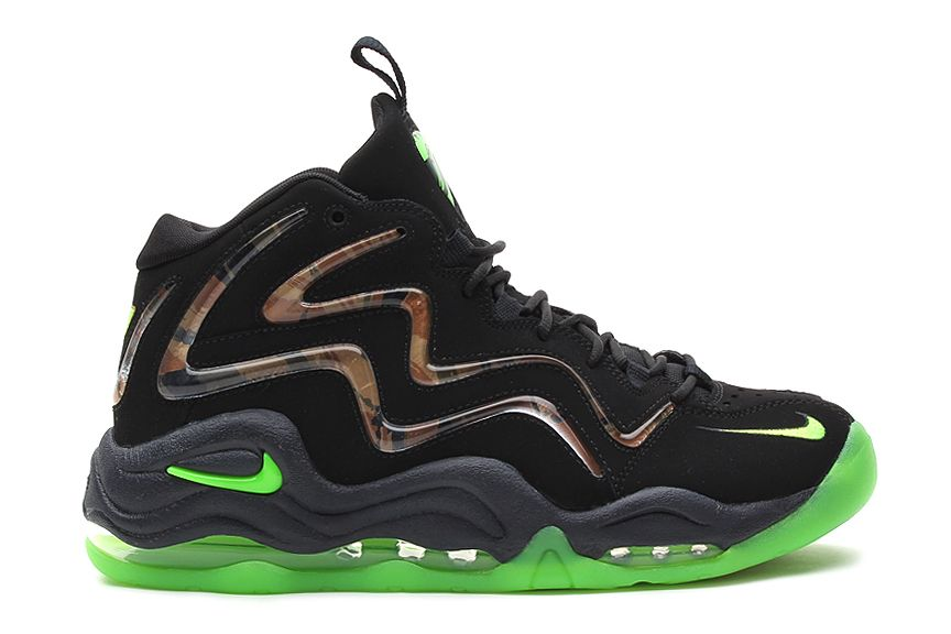 Nike Air Pippen 1 Retro Black Flash Lime-Anthracite. Find this Pin and more  on Sneakers ... ac536dc28