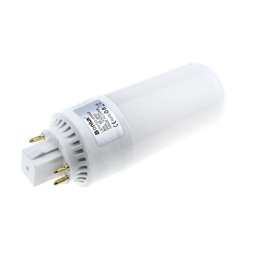 Bonlux 2-Pack GX24 Rotatable LED Light Bulb 13W Cool White 6000K ...