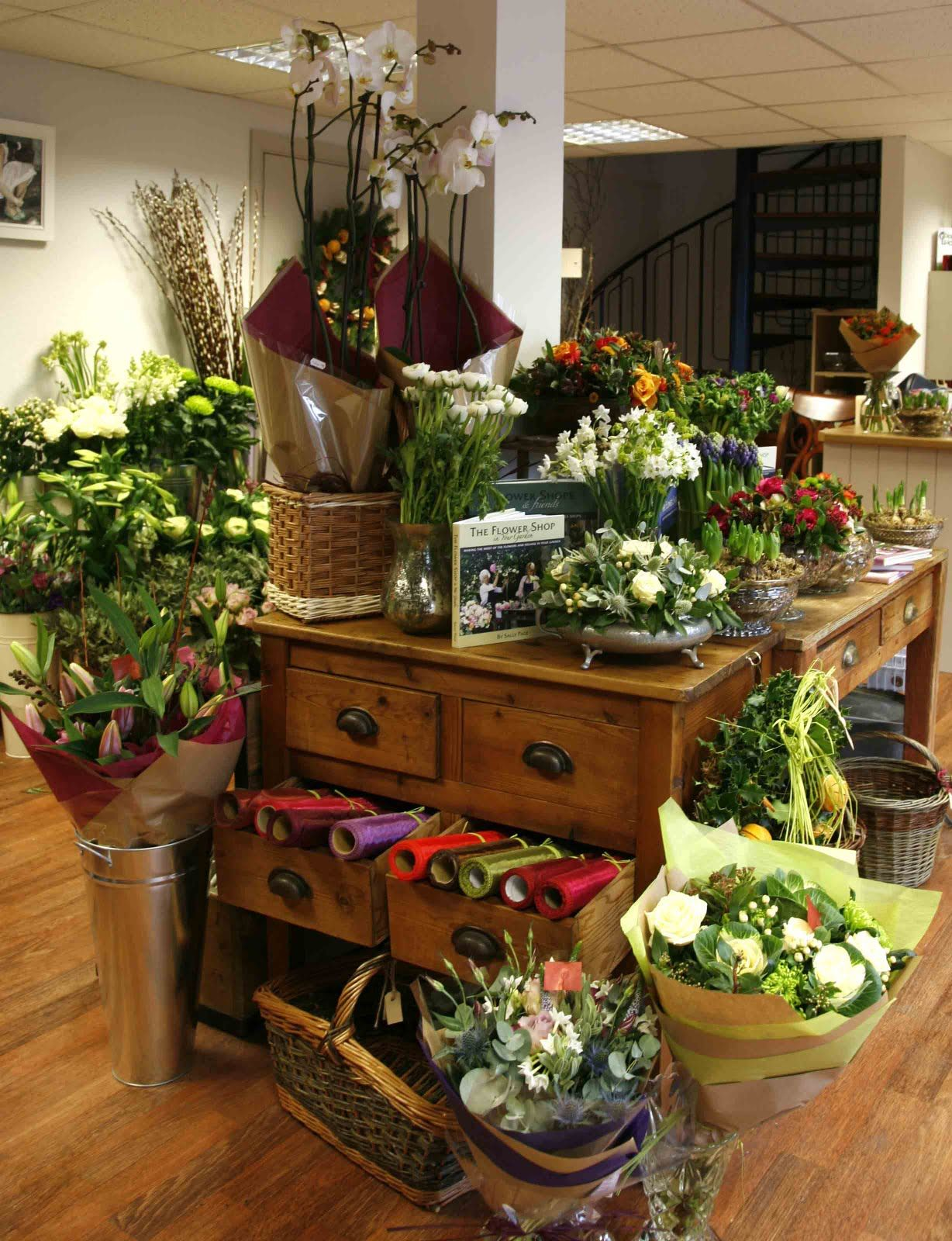 interior/display ideas Flower shop interiors, Flower