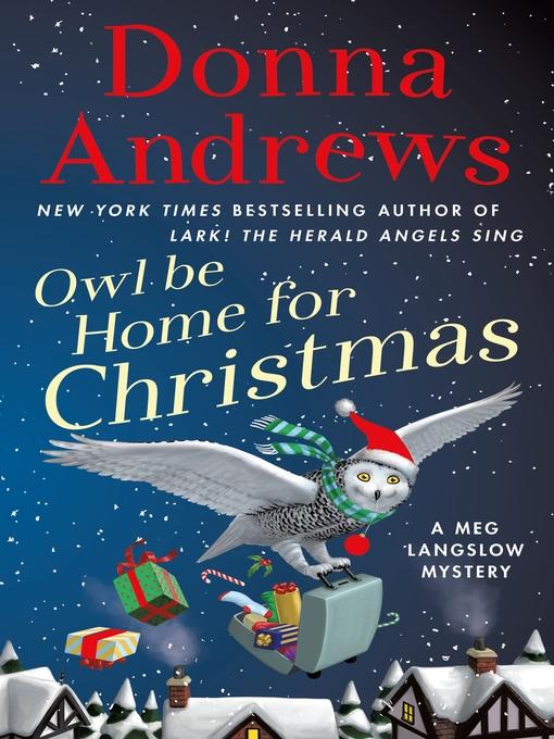 Owl Be Home for Christmas Nassau Digital Doorway