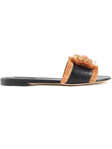 0588dd17671de DOLCE  amp  GABBANA Dolce Gabbana Slide St.Iguana.  dolcegabbana  shoes