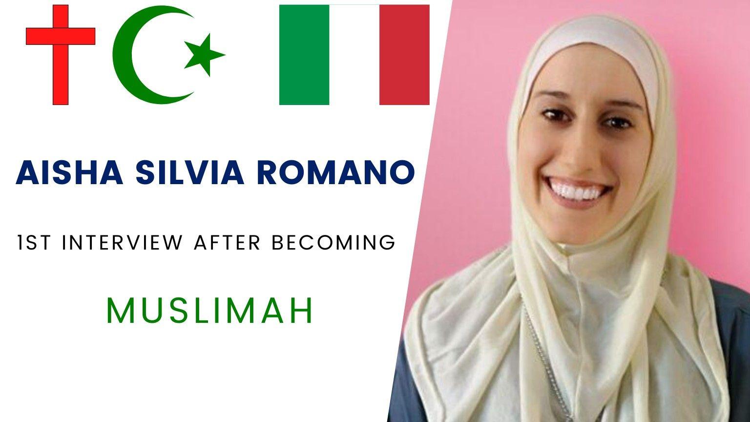 Aisha Silvia Romano 🇮🇹 | First Interview as Muslimah 🧕