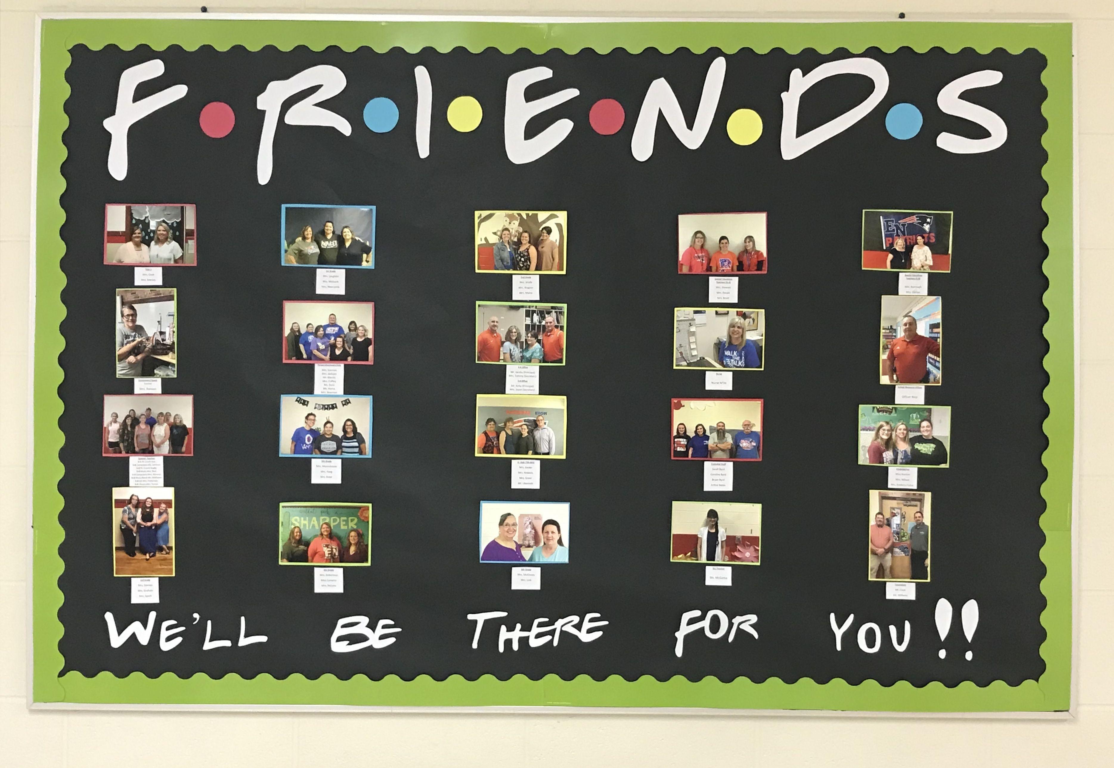Teacher Friends bulletin board