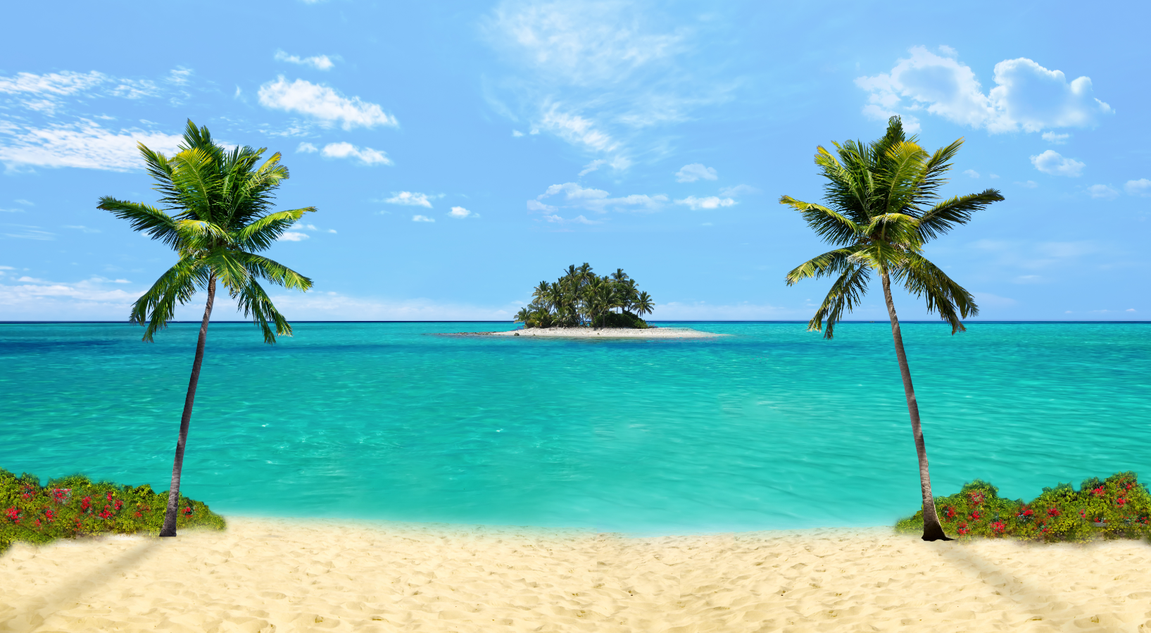 Hd Tropical Island Beach Paradise Wallpapers And Backgrounds: Tropical Paradise--Beach Parties, Hawaiian Luaus