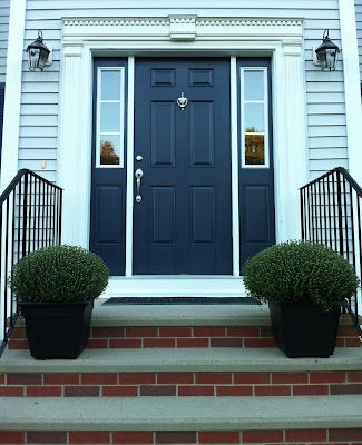 Crushing On Hale Navy Beautiful Front Doors Painted Front
