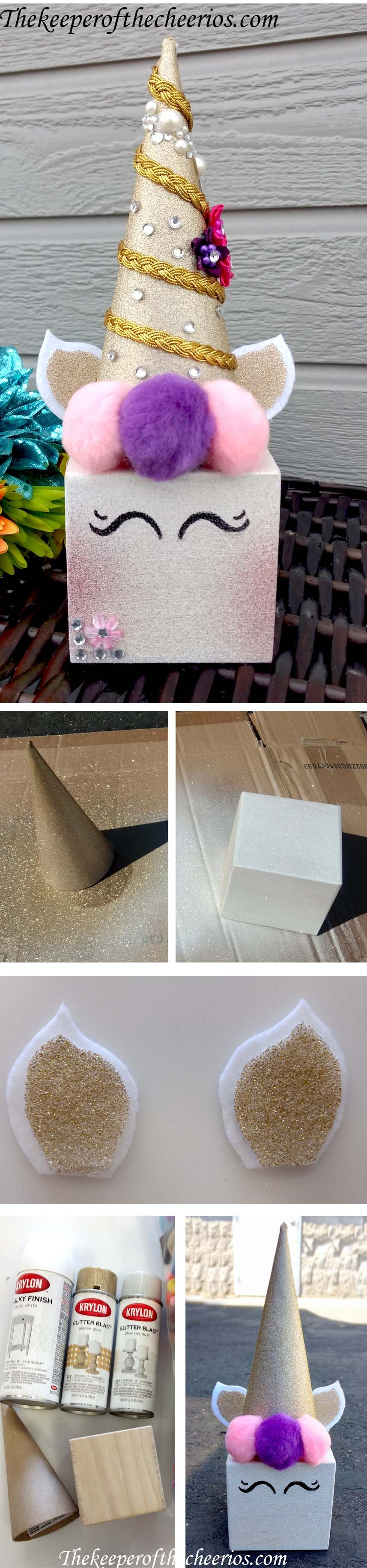 Unicorn Centerpiece Idea The Keeper Of The Cheerios Crafts