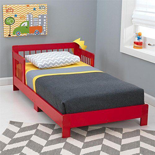 KidKraft Toddler Houston Bed, Red KidKraft http://www.amazon.com/dp/B00LKQBEXU/ref=cm_sw_r_pi_dp_fogQub1B89NP3