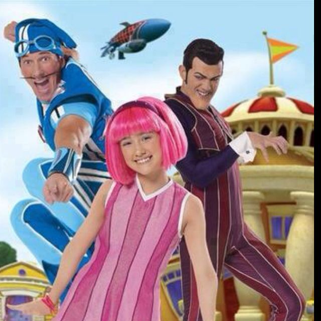 Movie characters with pink hair