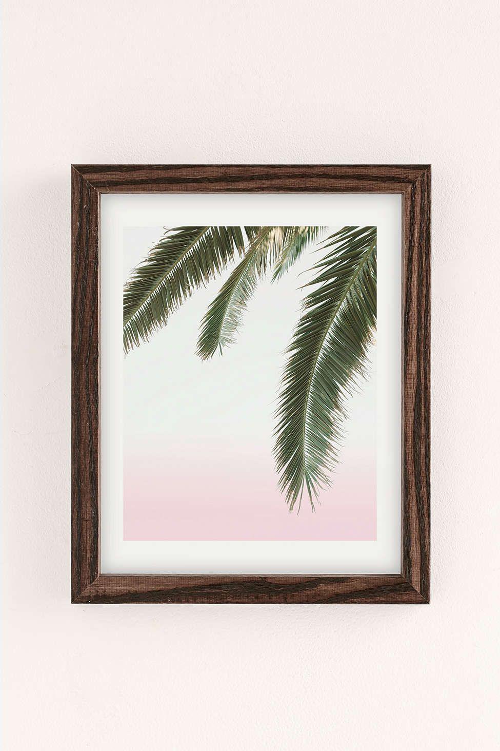 Wilder california hanging palm art print apartment ideas spaces