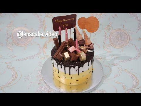 Drip Cake Tutorial Decorating Cara Membuat Kue Ulang Tahun