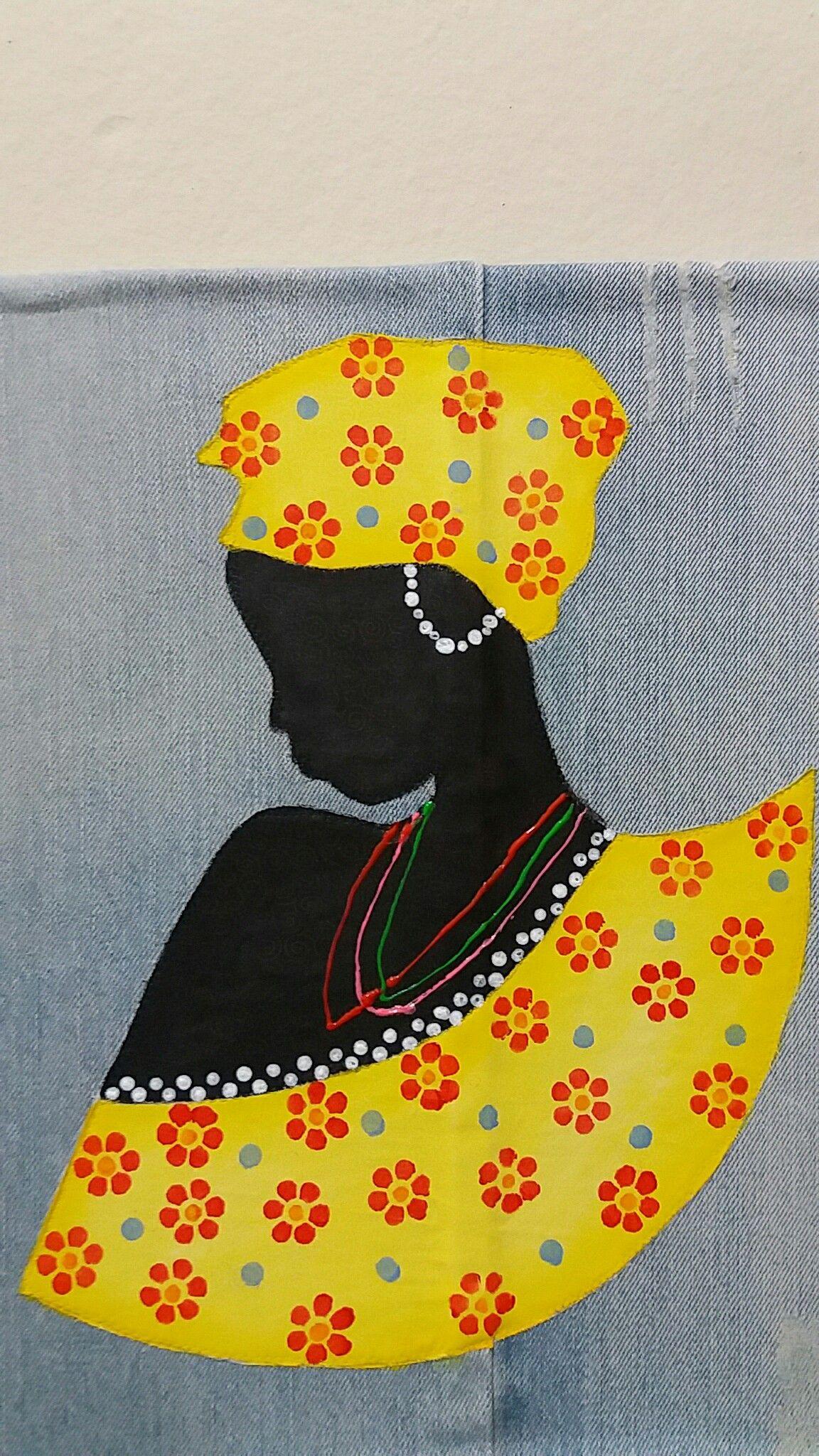 5dc8d0f3fb97b6 Africana 3 | Artesanato | Trabalho de arte, Mulheres africanas e ...