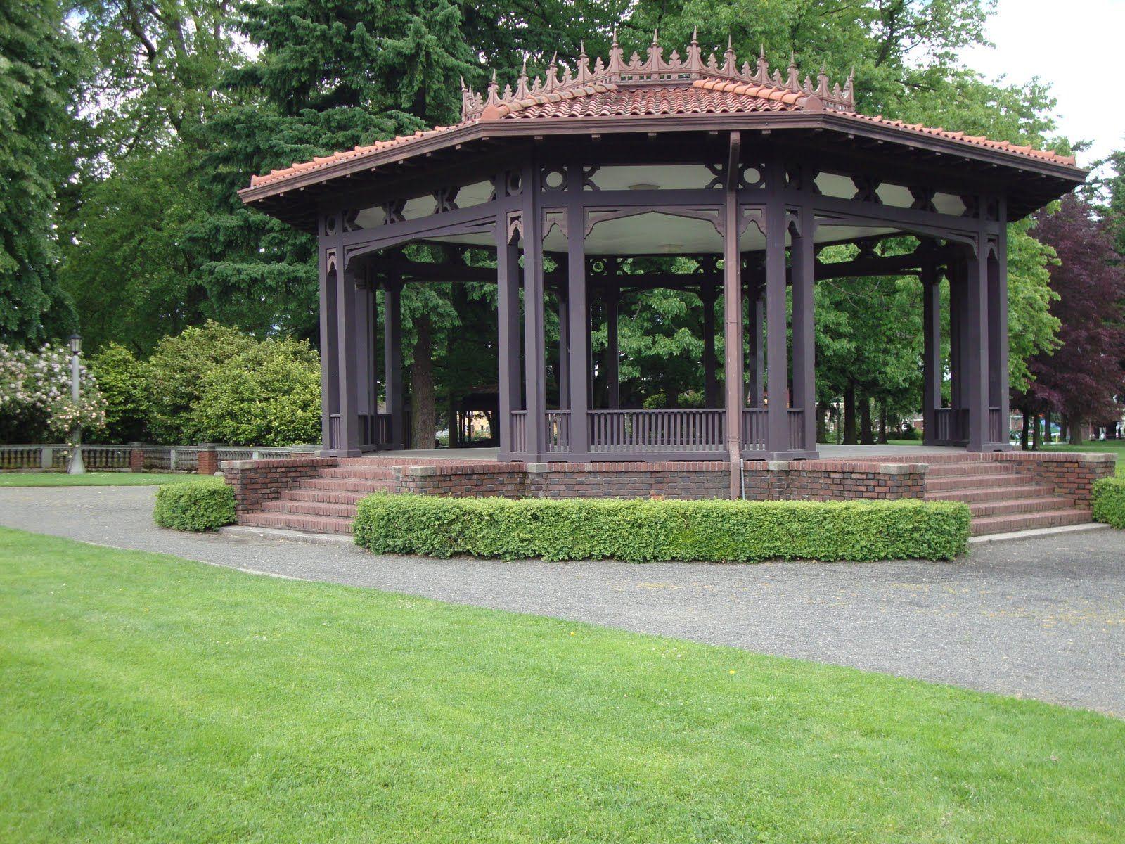 Peninsula Park Portland Gazebo Outdoor Structures Gazebo Beautiful Places