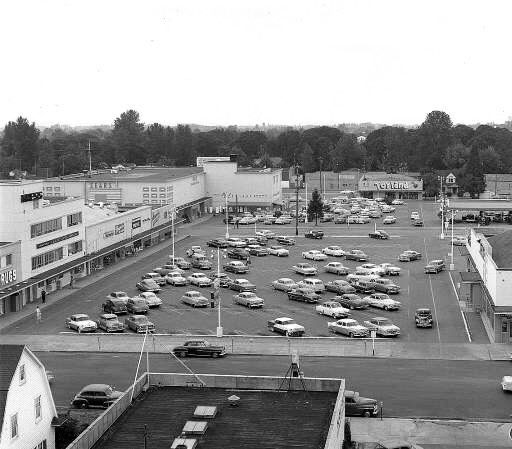 Capital Shopping Center 1950s In Salem Or All Gone Now