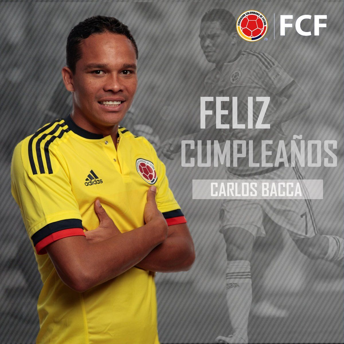 RT @ FCFSeleccionCol: ¡@carlos7bacca, felices 30! Será un año de grandes éxitos. https://t.co/wwftiHjGUC