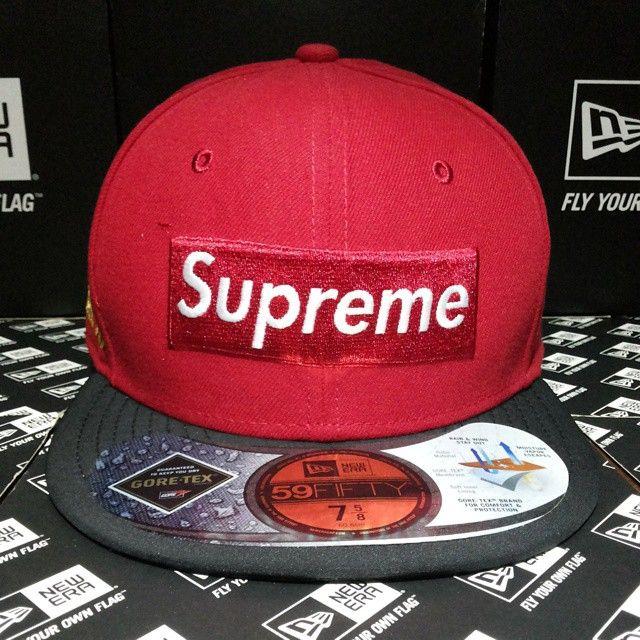 81d25edfcb4 Customer order from Jakarta. Import from USA. Supreme x New Era x Goretex  New