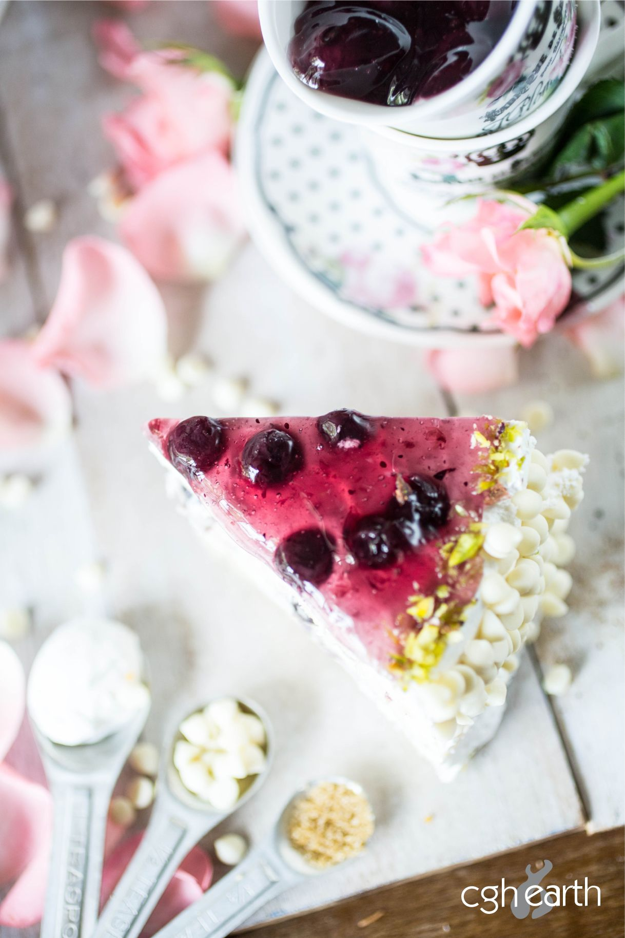 Blueberry Cheesecake Outdoor Catering Gourmet Recipes