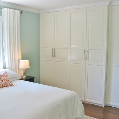 Ikea Pax With Molding Added | House Remodel | Pinterest