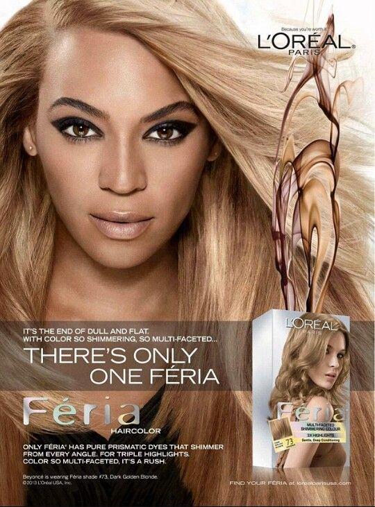 Beyonc Loral Feria Hair Color 73 Dark Golden Blonde 2010