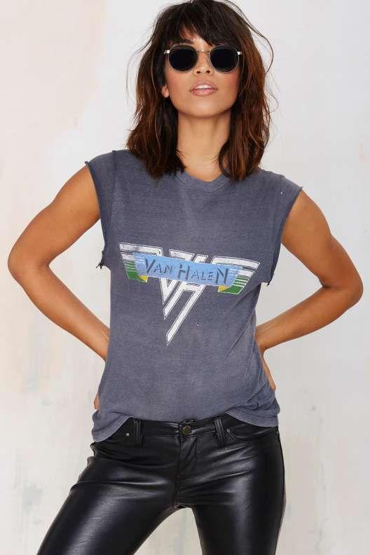 906cdf5d Vintage Van Halen Muscle Tee-my VIBE 100% xx E   Erika M The Stylist ...