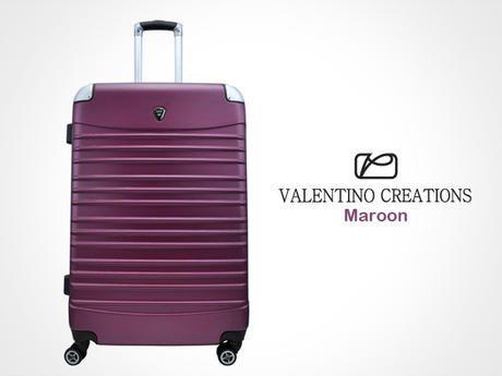 65193b20f01 LivingSocial Shop: Valentino Creations Side Protector Taipan Luggage ...