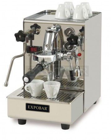 Expobar Brewtus IV: E61 Brühgruppe, Zweikreis und P.I.D. treffen ... | {Espressomaschinen 90}