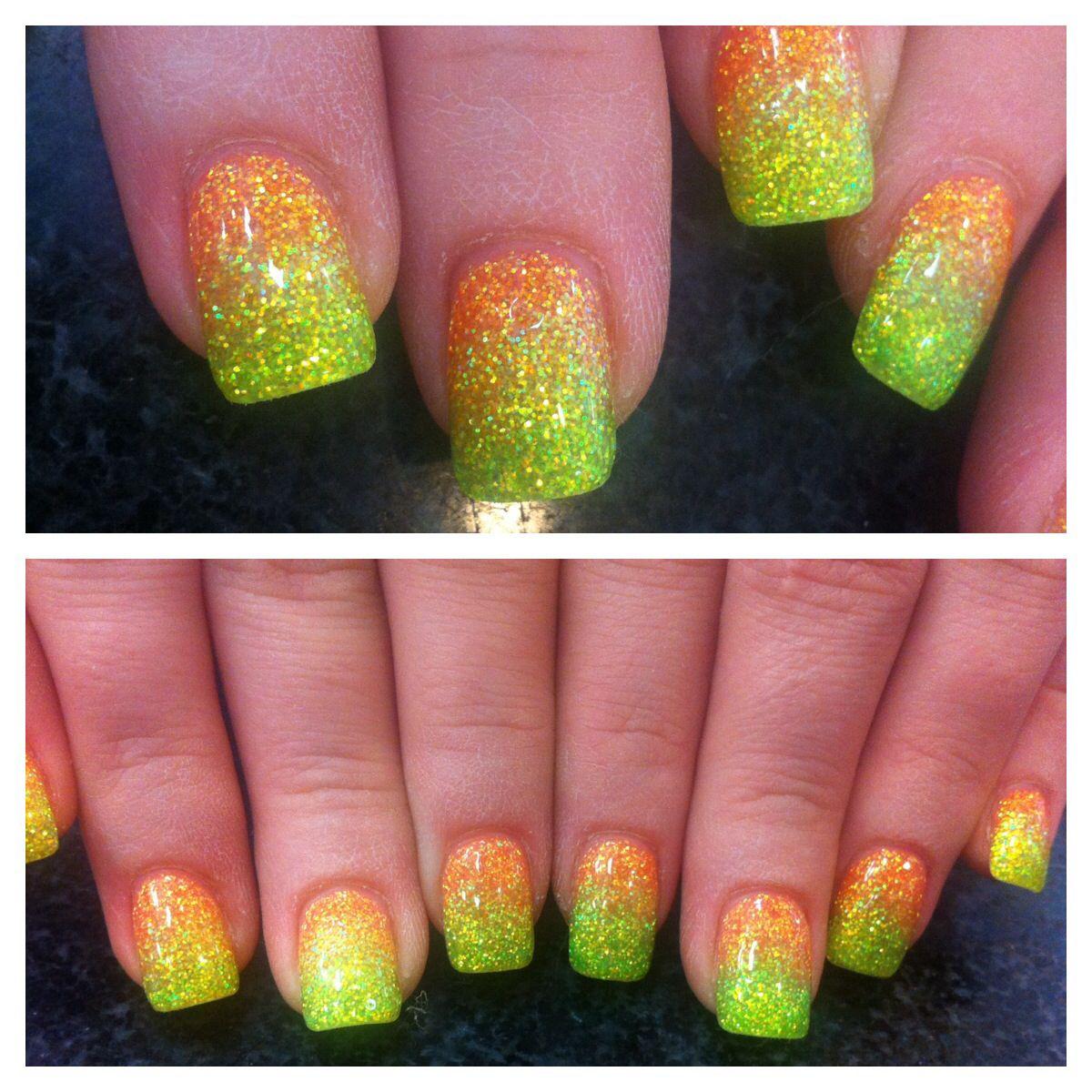 ombré solar nails | My nails | Pinterest | Fabulous nails, Manicure ...