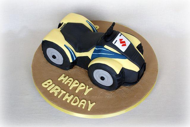 Quad Bike Cake By Donna Makes Cakes Via Flickr Moto Tortas