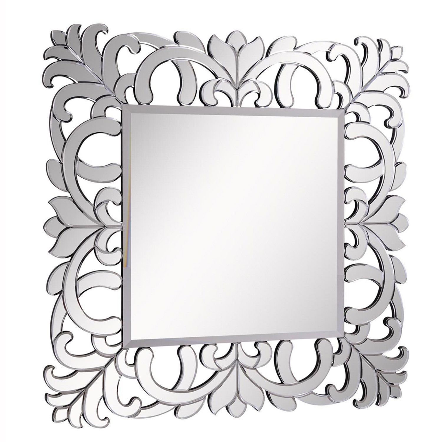 "Elegant Lighting - Mirror 46"" x 46"" x 3/4"", Clear"
