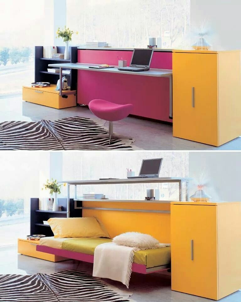 Space Saving Furniture Bedroom, Small Room