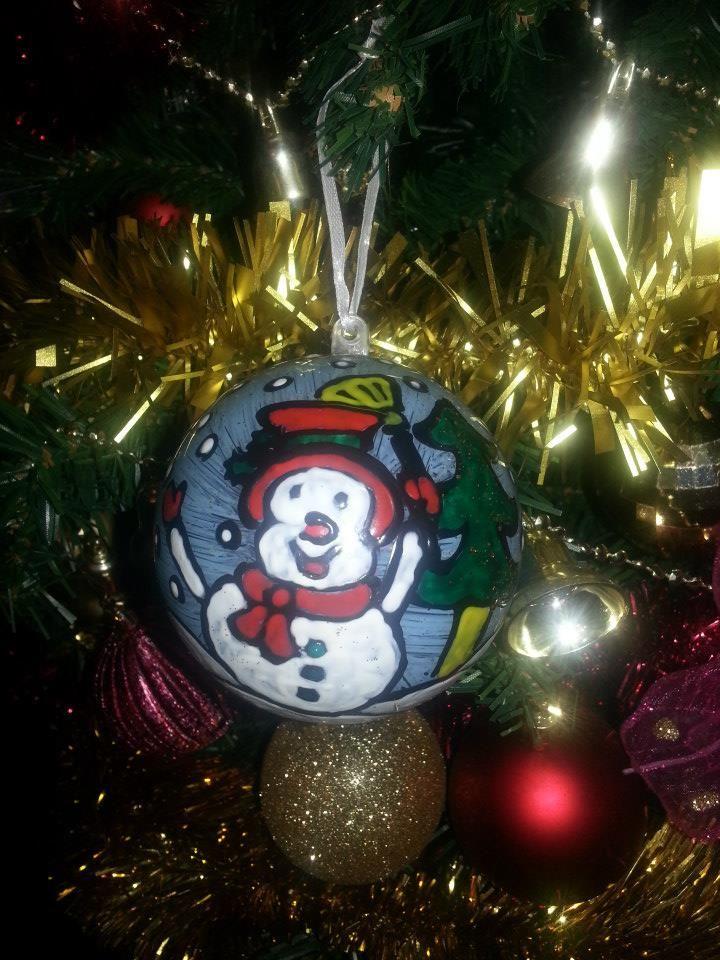 Christmas ball by Amanda Marino Christmas Pinterest