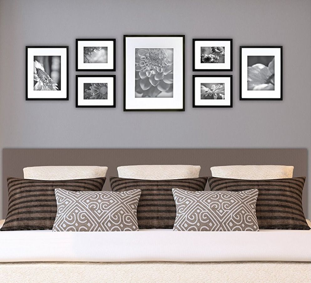 Wall Frame Set Black 7 New Picture Photo Gallery Solid Wood Frames Home Decor Living Room Wall Bedroom Wall Room Decor