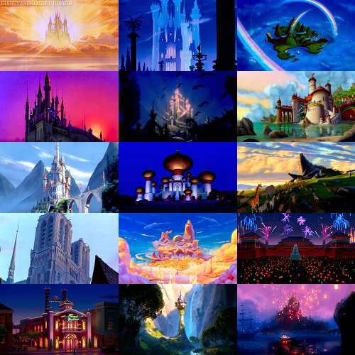 Disney Castles O.O Cool Stuff Pinterest Castles
