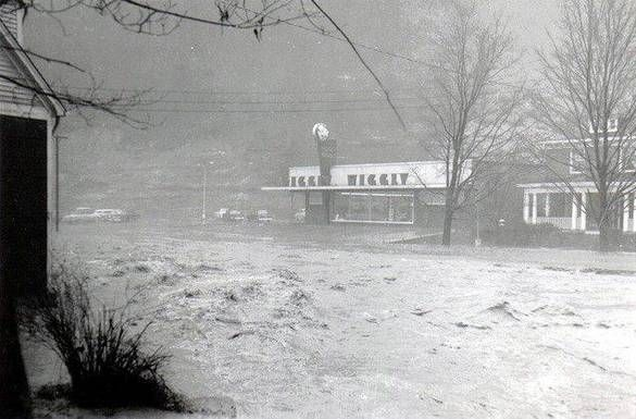 Flooding At Grundy Piggle Wiggle Virginia Is For Lovers Grundy Appalachia