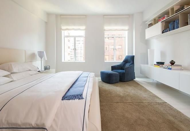 Chambre adulte moderne blanche chambres Pinterest Lofts and