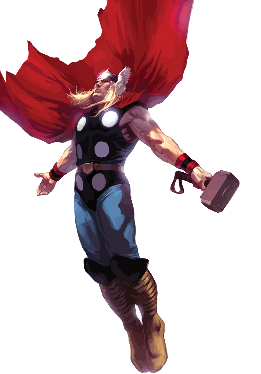 Thor Vector By Anubis55 On Deviantart Thor Comic Thor Comic Art Marvel Comics