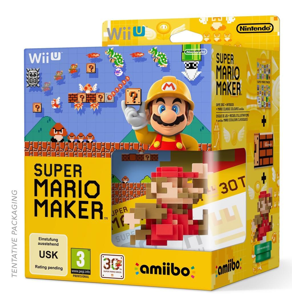 Super Mario Maker packaging.