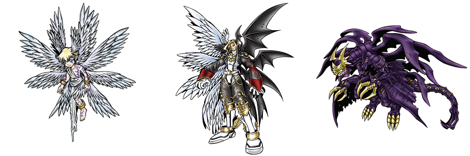 Lucemon Evolutions Seven Great Demon Lord...