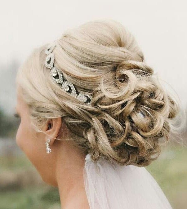 Marvelous Down Wedding Hairstyles Half Up Half Down And Curly Wedding Hairstyle Inspiration Daily Dogsangcom