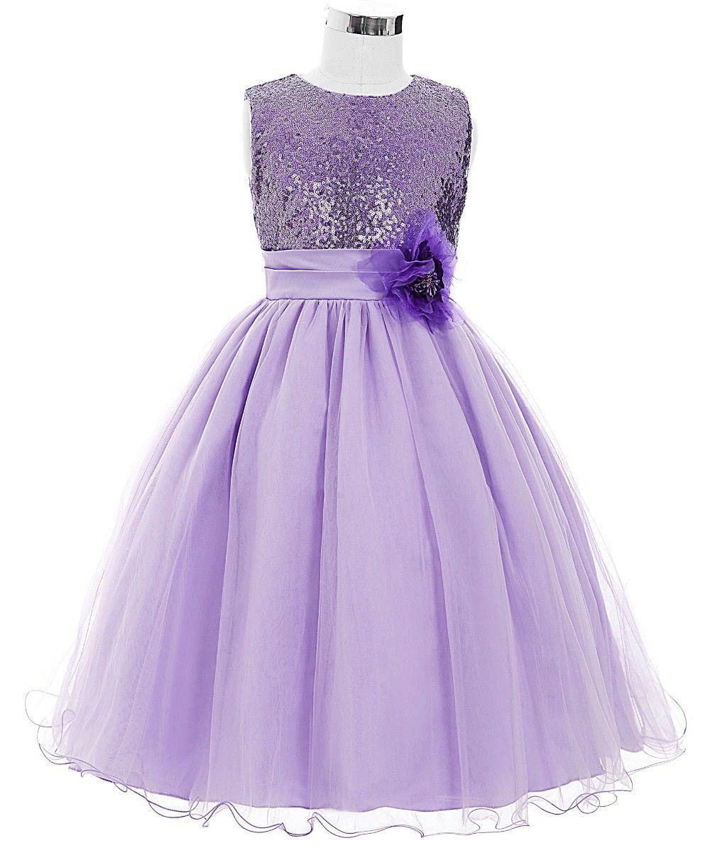 Sleeveless Satin Tulle Princess Flower Girl Dress | Costura y Vestiditos