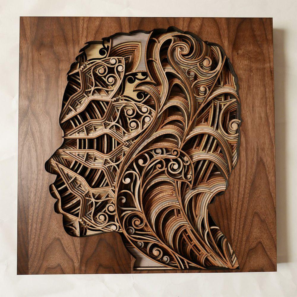 Prazerosas esculturas cortadas a laser